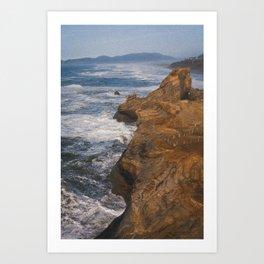 Oregon's Rocky Coastline Art Print