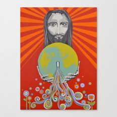 Flood of Love Canvas Print