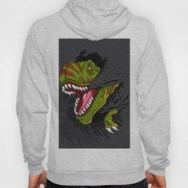 Agressive t rex. Hoody