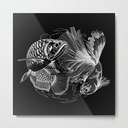 showdown (black) Metal Print