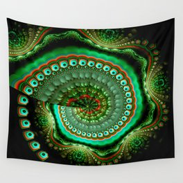 Pretty eyes, swirling pattern abstract Wall Tapestry