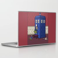 hallion Laptop & iPad Skins featuring Who wants to Build a Snowman? by Karen Hallion Illustrations
