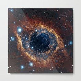 Helix Nebula Galaxy Deep Space Art Print Metal Print