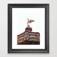 Piccadilly Circus London Framed Art Print