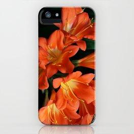 Jungle Floral iPhone Case