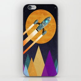 Rocket  2nd Star to the right  LLAP iPhone Skin
