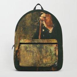 Antonio Mancini - Portrait of John Lowell Gardner Backpack