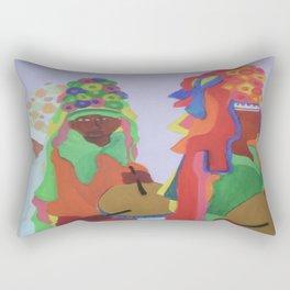 Festa do Rosario Rectangular Pillow
