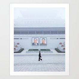 Pyongyang, North Korea Art Print