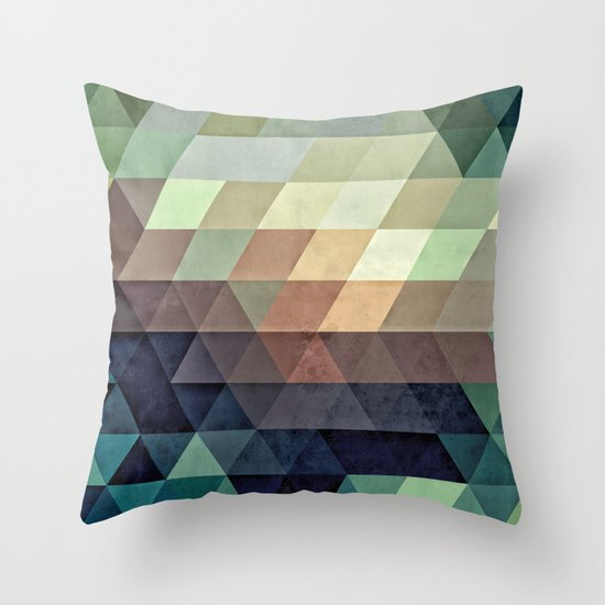 fyrryst fayl Throw Pillow