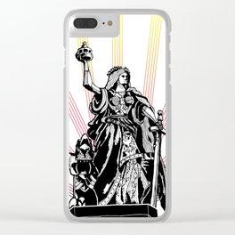 Germania Triumphant Clear iPhone Case