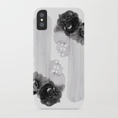selene and eos (black and white) iPhone X Slim Case