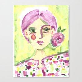 Lavender Lady Canvas Print