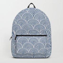 Denim Waves Backpack