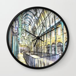 Covent Garden Sketch Wall Clock