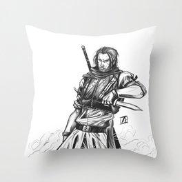 Rogue Warrior Throw Pillow