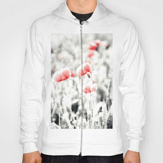 Poppy Poppies Mohn Mohnblume Flower Hoody