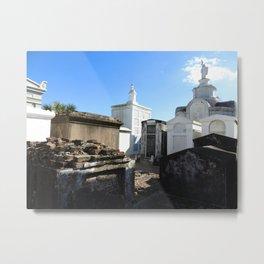 New Orleans: Raised Cemetery Metal Print