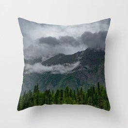 Summer Storm Clouds - Kenai_Peninsula, Alaska Throw Pillow