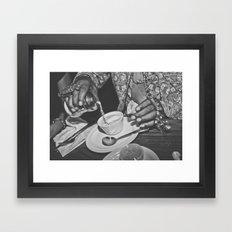 Sugar Pimp Framed Art Print