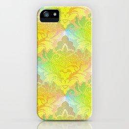 Damask Tapestry Pattern I iPhone Case