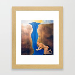 A Compassionate Thirst Framed Art Print
