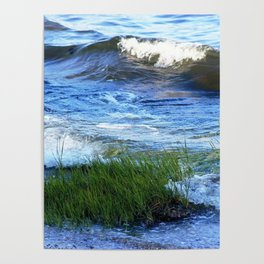 Soft Rolling Waves - 2 Poster