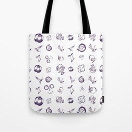 Burtonesque Pattern Tote Bag