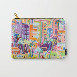 Miami Electric Carry-All Pouch