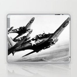 Vintage fighters Laptop & iPad Skin