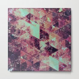 Abstract Geometric Background #32 Metal Print