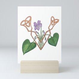 V is for Violet Mini Art Print