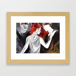 Heavenly Fire Framed Art Print