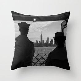 Memorial Day NYC Throw Pillow