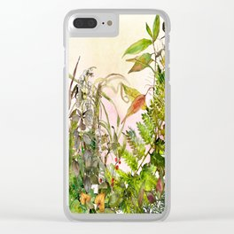 Woodland Meadow 2 Clear iPhone Case