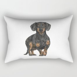 Daschund Rectangular Pillow