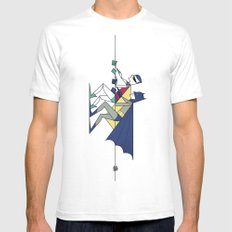 The POW! of love MEDIUM Mens Fitted Tee White