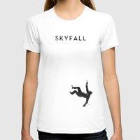 skyfall T-shirts featuring Skyfall by Arian Noveir