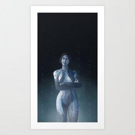 UNSC AI Cortana Art Print