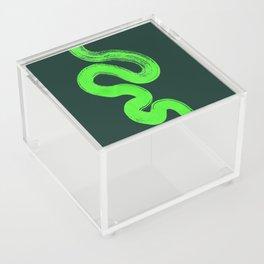 pathways green Acrylic Box