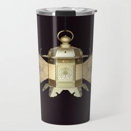 Golden Lantern Travel Mug