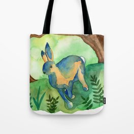 Running Hare Tote Bag