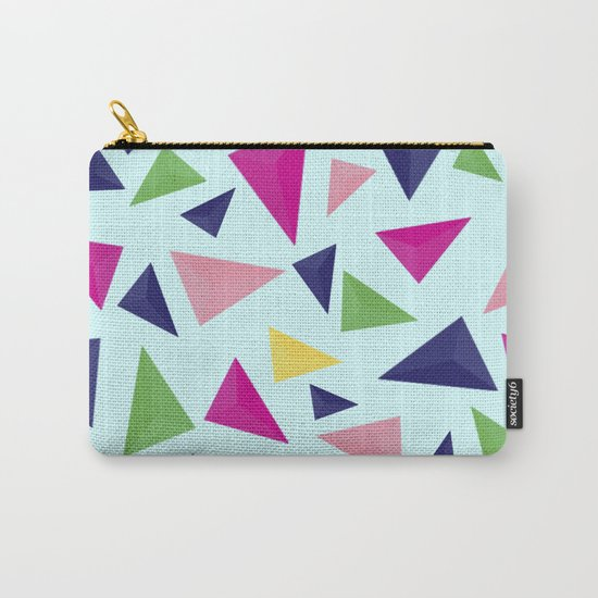 Colorful geometric pattern VIV Carry-All Pouch