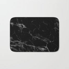 Black Marble Badematte