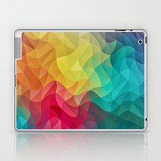 Abstract Color Wave Flash Laptop & iPad Skin