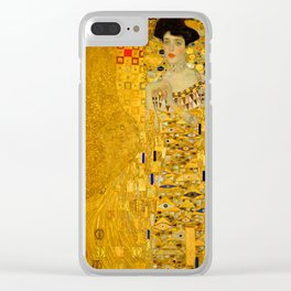 Gustav Klimt A Bloch Bauer Clear iPhone Case
