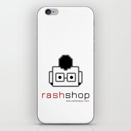 rashshop iPhone Skin
