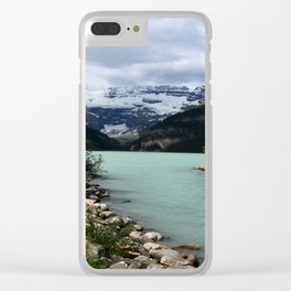 Lake Louise Impression Clear iPhone Case
