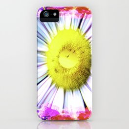 Pink And Yellow Delight iPhone Case