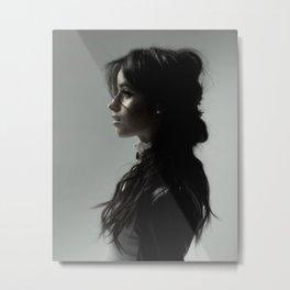 Camila Cabello 2 Metal Print
